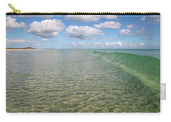 Ocean Waves And Clouds Rollin' By Carry-all Pouch