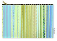 Oceana Stripes Carry-all Pouch