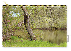 Carry-all Pouch featuring the photograph Oceano Lagoon by Art Block Collections