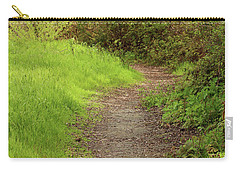 Carry-all Pouch featuring the photograph Oceano Lagoon Trail by Art Block Collections