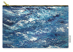 Ocean's Blue Carry-all Pouch