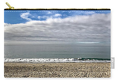 Carry-all Pouch featuring the photograph Ocean's Edge by Kim Nelson