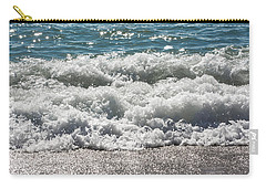 Carry-all Pouch featuring the photograph Oceans Layers by Colleen Coccia