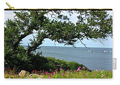 Oceanside Floral Blessings 2 Carry-all Pouch