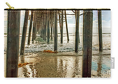 Oceanside - Low Tide Under The Pier Carry-all Pouch