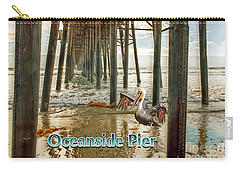 Oceanside - Pelican Under The Pier Carry-all Pouch