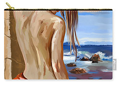 Oceanview Carry-all Pouch by Tim Gilliland