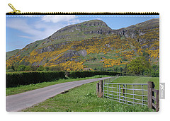 Carry-all Pouch featuring the photograph Ochil Hills In Clackmannanshire by Jeremy Lavender Photography