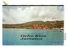 Carry-all Pouch featuring the photograph Ocho Rios Jamaica by Gary Wonning