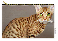 Ocicat Carry-all Pouch by Marian Cates