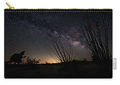 Ocotillo And Dino Milky Way Carry-all Pouch