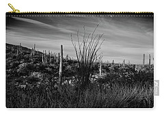Ocotillo And Saguaros Carry-all Pouch