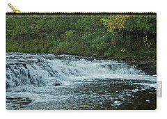 Ocqueoc Falls_9535 Carry-all Pouch by Michael Peychich