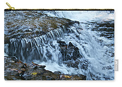 Ocqueoc Falls_9542 Carry-all Pouch by Michael Peychich