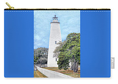 Carry-all Pouch featuring the photograph Ocracoke Lighthouse by Marion Johnson
