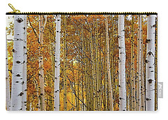 October Aspen Grove  Carry-all Pouch