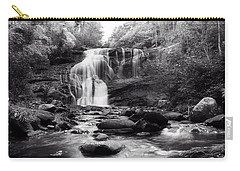 October At Bald River Falls Sepia Carry-all Pouch