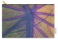 Carry-all Pouch featuring the photograph October Leaf by Peg Toliver