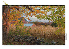 Carry-all Pouch featuring the photograph October Morning 2016 by Bill Wakeley