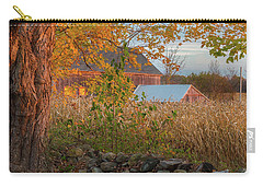 Carry-all Pouch featuring the photograph October Morning 2016 Square by Bill Wakeley