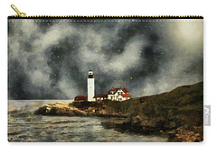 October Night, Portland Head Carry-all Pouch