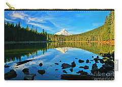 October On The Lake Carry-all Pouch by Sheila Ping