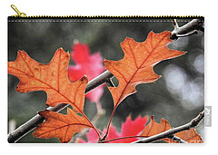 Carry-all Pouch featuring the photograph October by Peggy Hughes