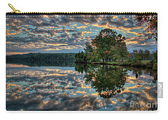 Carry-all Pouch featuring the photograph October Skies by Douglas Stucky