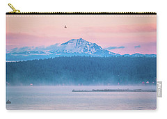 Carry-all Pouch featuring the photograph October Snow by Jan Davies