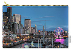 October Twilight Seattle Waterfront Carry-all Pouch