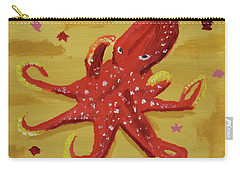 Octopus Carry-all Pouch by Anthony LaRocca