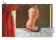 Carry-all Pouch featuring the painting Odalisque 2016 by Marlene Book