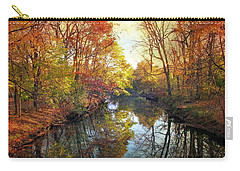 Carry-all Pouch featuring the photograph Ode To Autumn by Jessica Jenney