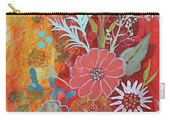 Carry-all Pouch featuring the painting Ode To Spring by Robin Maria Pedrero