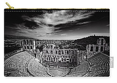 Odeon Of Herodes Atticus Carry-all Pouch by Ian Good