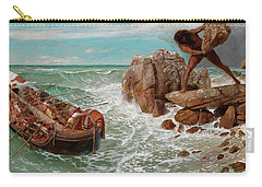 Odysseus And Polyphemus Carry-all Pouch