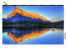 Of Geese And Gods Carry-all Pouch by Scott Mahon