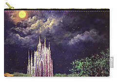 Of Glass Castles And Moonlight Carry-all Pouch