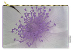 Carry-all Pouch featuring the photograph Of Lavender Scent by The Art Of Marilyn Ridoutt-Greene