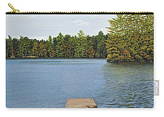 Off The Dock Carry-all Pouch by Kenneth M  Kirsch