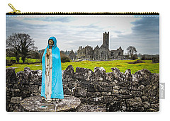 Official Greeter At Ireland's Quin Abbey National Monument Carry-all Pouch