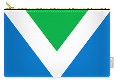 Official Vegan Flag Carry-all Pouch