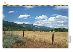 Ogden Valley Hay Bales Photo Carry-all Pouch