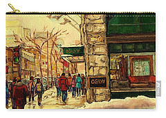 Ogilvys Department Store Downtown Montreal Carry-all Pouch