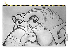Ogre Sketch Carry-all Pouch by Yshua The Painter