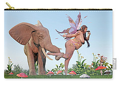 Oh Alice Carry-all Pouch by Betsy Knapp
