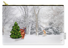 Oh Christmas Tree Carry-all Pouch by Mary Timman