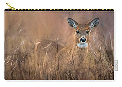 Carry-all Pouch featuring the photograph Oh Deer by Robin-Lee Vieira