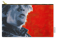 Carry-all Pouch featuring the painting Tyrion Lannister by Luis Ludzska