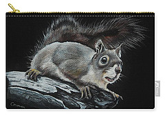 Oh Nuts  Carry-all Pouch by Jean Cormier